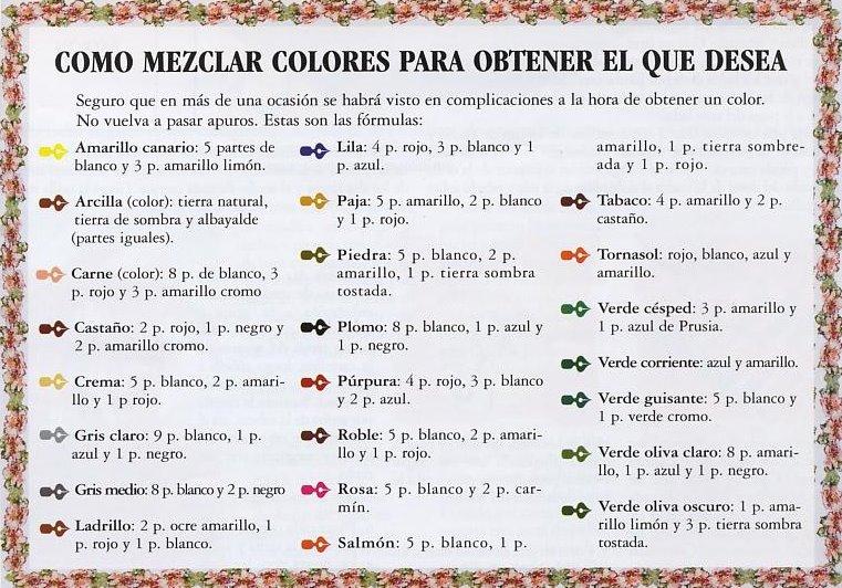 Creando mezclas de colores adesign - Cual es el color ocre ...