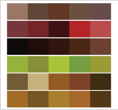Colores tierra adesign - Colores tierra para salon ...