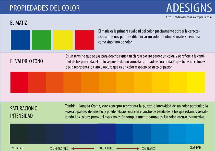 color matiz:
