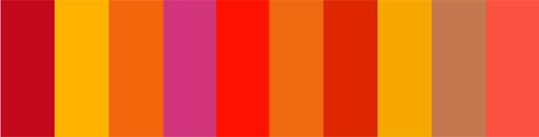 Paletas de colores crom ticos blog adesign - Gama de colores calidos ...